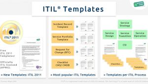 Itil V3 Templates Itil Checklists It Process Wiki