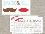 Jack and Jill Ticket Templates Jack Jill Tickets Mr and Mrs 250 Double by Yellowbrickstudio