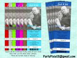 Jack and Jill Tickets Templates Jack and Jill Stagette Buck and Doe Party Invitation Ticket