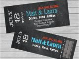 Jack and Jill Tickets Templates Tickets Entry Jack and Jill Stag Fundraiser Custom