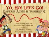 Jake and the Neverland Pirates Birthday Invitation Template Free Printable Jake and the Neverland Pirates Birthday