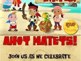 Jake and the Neverland Pirates Birthday Invitation Template Jake and the Neverland Pirates Birthday Invitations