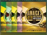 Jamaican Flyer Templates Jamaica 39 S Independence Flyer Template Graphicriver