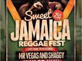 Jamaican Flyer Templates Reggae Flyer Poster Vol 6