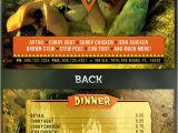 Jamaican Flyer Templates Restaurant Menu Templates Graphic Designs