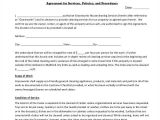 Janitorial Contracts Templates 13 Sample Cleaning Service Contract Template Pages