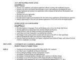 Java Basic Resume Entry Level Java Developer Resume Dandilyonfluff Com