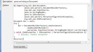 Java Email Template Create Eclipse Templates for Faster Java Coding