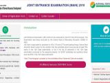 Jee Paper 2 Admit Card Jee Main Final Answer Keys 2019 Released at Jeemain Nic In
