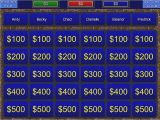 Jeopardy Template with sound Effects Create Your Own Jeopardy Game Powerpoint Template