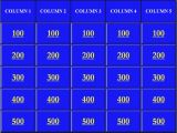 Jeopardy Template with sound Effects Jeopardy Powerpoint Template 5 Categories