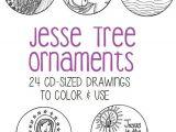 Jesse Tree ornament Templates Jesse Tree ornaments for Advent