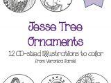 Jesse Tree ornament Templates Paper Dali Jesse Tree ornaments