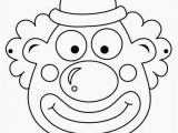 Jester Mask Template Clowns Free Printable Coloring Masks or Templates Oh My