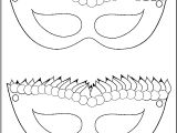 Jester Mask Template Mardi Gras Mask Coloring Page Coloring Home