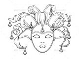 Jester Mask Template Women Venetian Mask Template Tinkytyler org Stock
