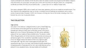 Jewelry Business Plan Template Business Plans and Proposals Advice Samples and