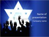 Jewish Powerpoint Templates some Jewish People Celebrating Beneath the Star Of David