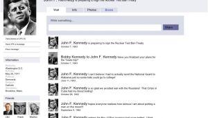 Jfk Facebook Template Facebook Sample Page Jfk