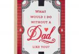 Jim and Wilson Valentine Card A Dad Like You Valentine S Day Card