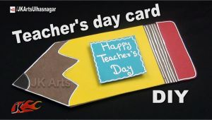 Jk Arts Teachers Day Card 35 Tutorial Make A Teacher S Day Card with Video