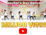 Jk Arts Teachers Day Card Teacher S Day Dance 2017 B S Memorial School Abu Road