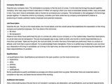 Job Advertisements Template Job Ads that Work How to Write A Job Posting
