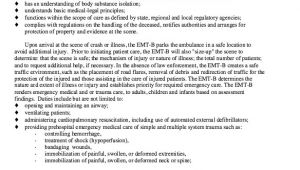 Job Description Of Emt Basic for Resume Pin by Ririn Nazza On Free Resume Sample Free Resume