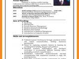 Job Interview Resume format Pdf 6 Cv Pattern for Job theorynpractice