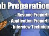 Job Interview Resume Youtube Job Preparation Resume Application Interview Youtube