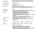 Job Interview Resume Zone area Manager Cv Template Management Resume Managerial