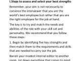 Job Interview Site Resume Strengths Examples Key Skills top 10 Job Strength Examples