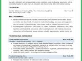 Job Objective for Student Resume Resumes Samples for College Students Template Nursing