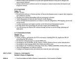 Job Related Resume format Ict Engineer Resume Samples Velvet Jobs
