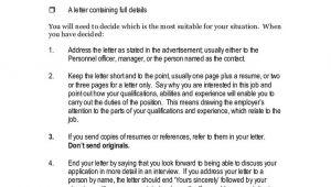 Job Vacancy Resume format Example Of Application Letter for Job Vacancy Example Of