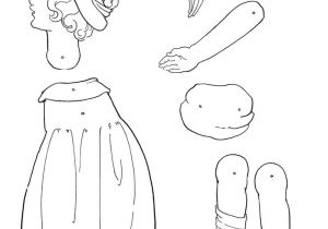 Jointed Paper Doll Template 17 Best Images About Articulated Paper Dolls 1 On
