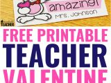 Jolly Mom Free Printable Teacher Valentines Day Card 240 Best Teaching Gifts for Teachers Students Images In