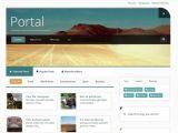 Jomla Template Portal Joomlabamboo