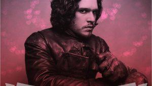 Jon Snow Valentine S Day Card Game Of Thrones Valentines Day Cards Tv Actors Jon Snow