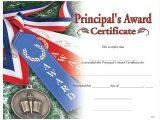 Jones Certificate Templates Principal 39 S Award Certificate Jones School Supply