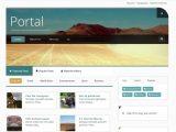 Jooma Templates Portal Joomlabamboo