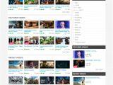Joomla Cms Templates Free Download Most Popular Joomla Video Sharing Templates Free