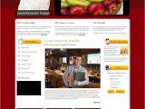 Joomla Templates for Restaurants Hot Restaurant Joomla Template Joomla Restaurant theme