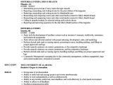 Journalism Student Resume Cv Journalism Internship Internship Resume Example