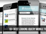 Jquerymobile Template 10 Best Looking Jquery Mobile Templates