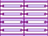 Jukebox Labels Template Free Jukebox Title Strip Card Program at Www Pinballrebel Com