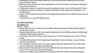 Junior Engineer Resume Junior Engineer Resume Samples Velvet Jobs