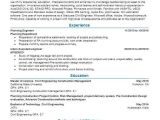 Junior Planning Engineer Resume Planning Engineer Objectives Resume Objective Livecareer