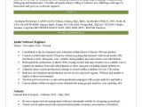 Junior software Engineer Resume Junior software Engineer Resume Samples Qwikresume