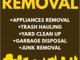 Junk Removal Flyer Template Junk Removal Flyer Template Postermywall